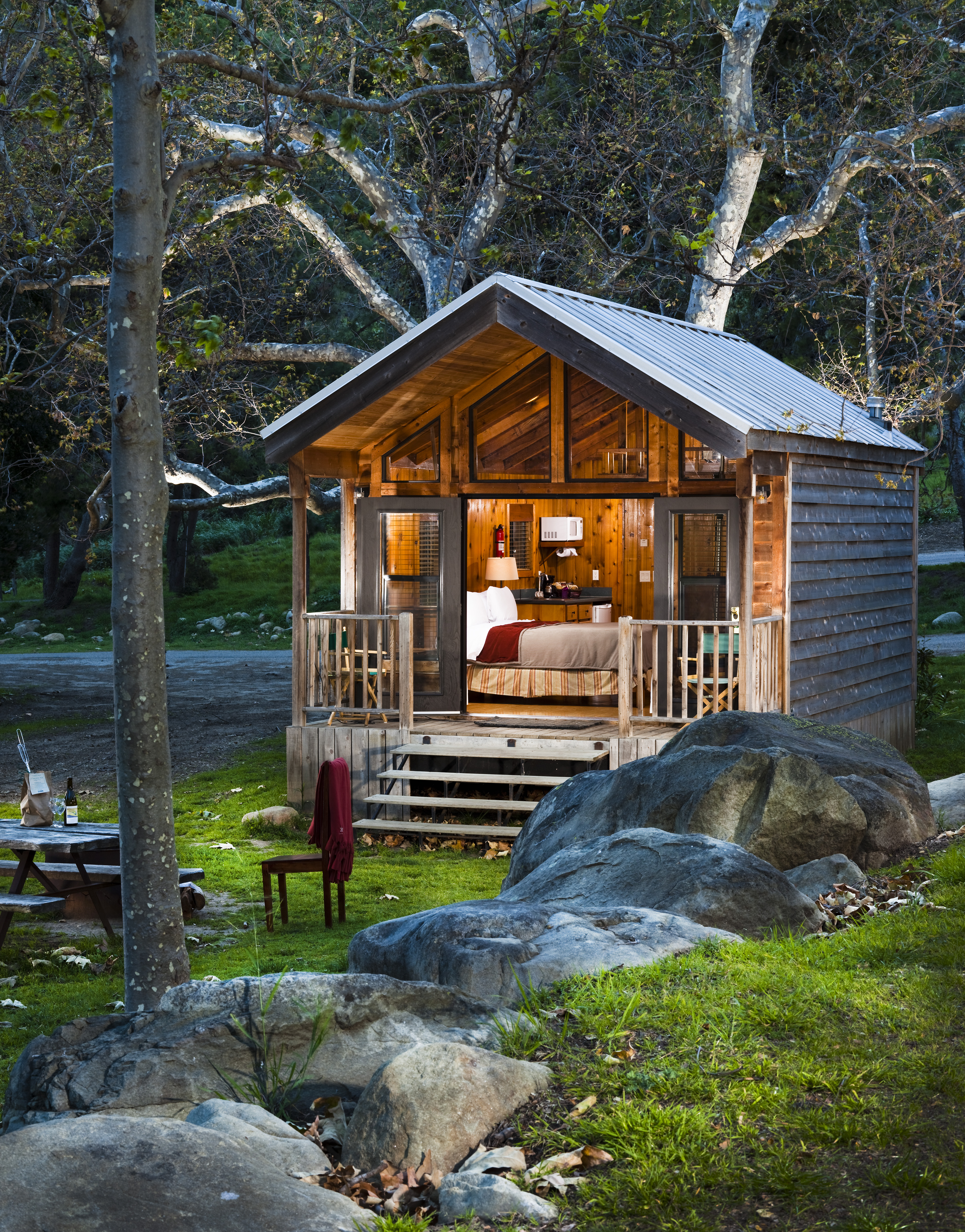 El Capitan Canyon Offers Luxury Camping Family Travel